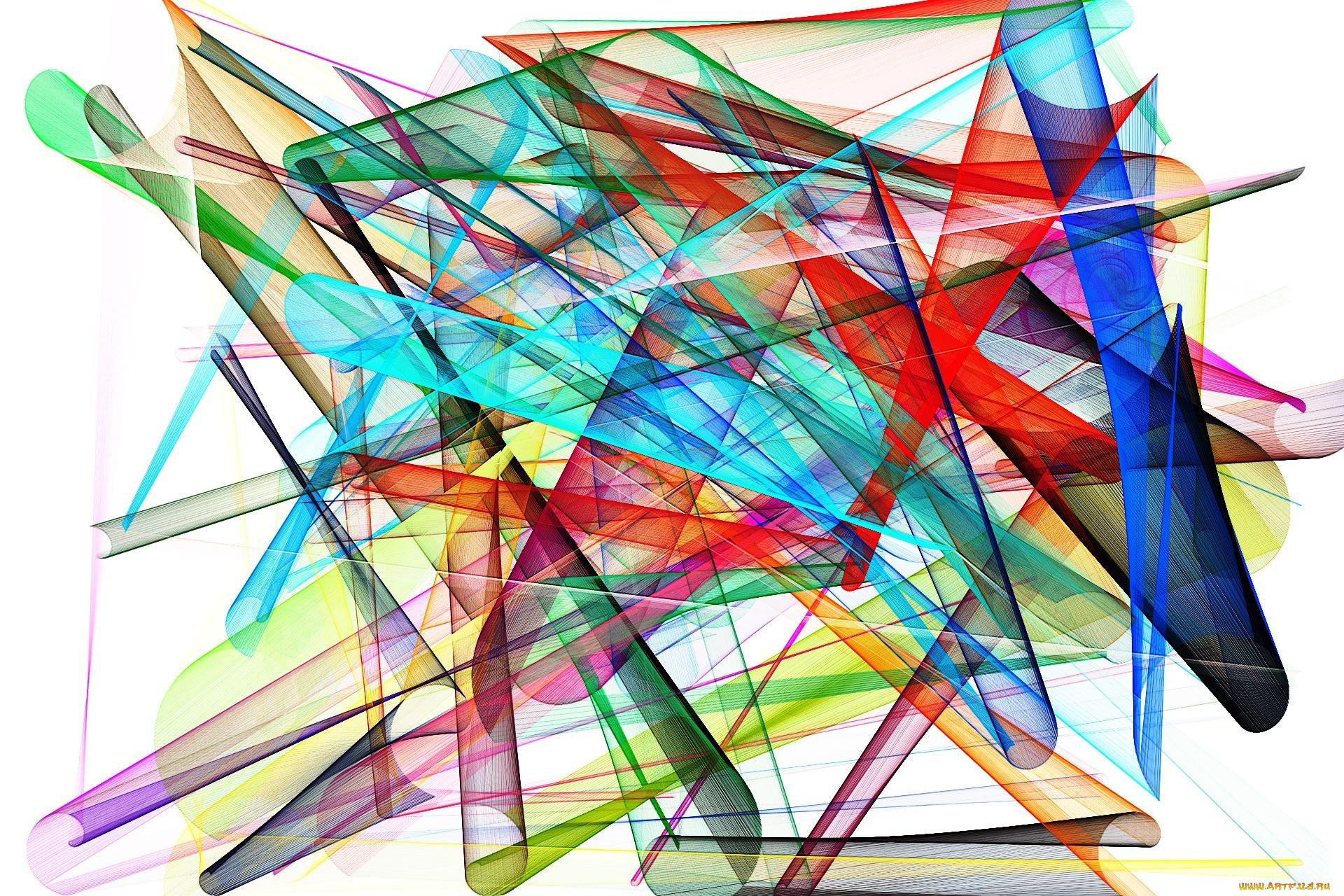 рождения фото цветной абстракции без фона каждая